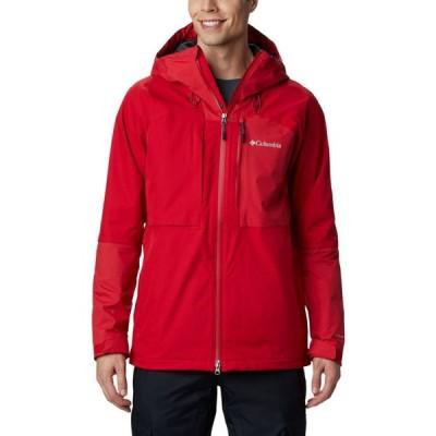 コロンビア Columbia メンズ スキー・スノーボード ジャケット アウター banked run snowboard jacket Mountain Red