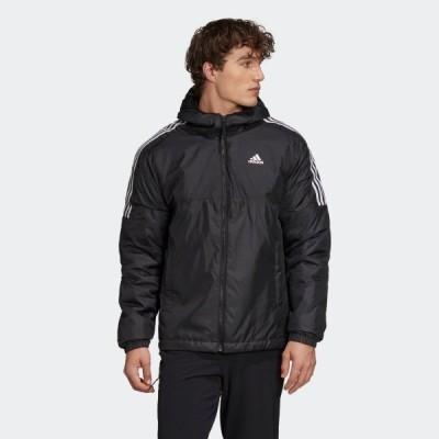 セール価格 アディダス公式 ウェア アウター adidas エッセンシャルズ インサレーテッド フード付きジャケット / Essentials Insulated Hooded Jacket