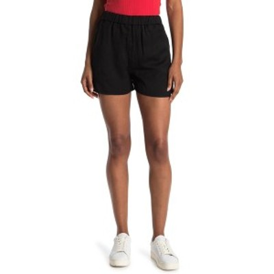 ボールドウィンデニム レディース カジュアルパンツ ボトムス Kayla Pull-On Shorts BLCK