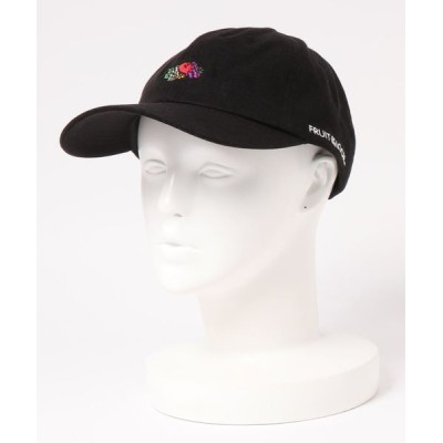FRUIT OF THE LOOM / LINEN LOGO EMB LOW CAP WOMEN 帽子 > キャップ