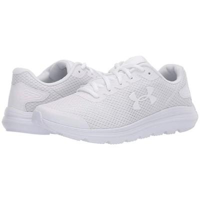 アンダー アーマー Surge 2 メンズ スニーカー 靴 シューズ White/White/White
