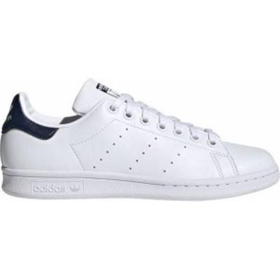 アディダス レディース スニーカー シューズ adidas Originals Women's Stan Smith Primegreen Shoes White/Navy