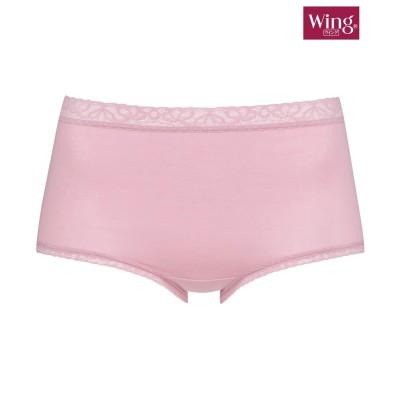 【Wing / Wacoal ウイング/ワコール】デイリーフィットショーツ はきこみ丈。深め(M) スタンダードショーツ, Panties