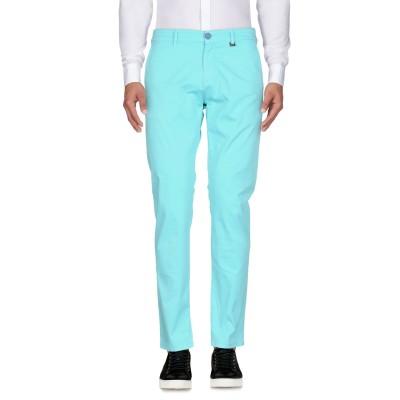 LIU •JO MAN パンツ ターコイズブルー 30 コットン 97% / ポリウレタン 3% パンツ