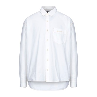 ジャックムー JACQUEMUS シャツ ホワイト 46 コットン 100% シャツ