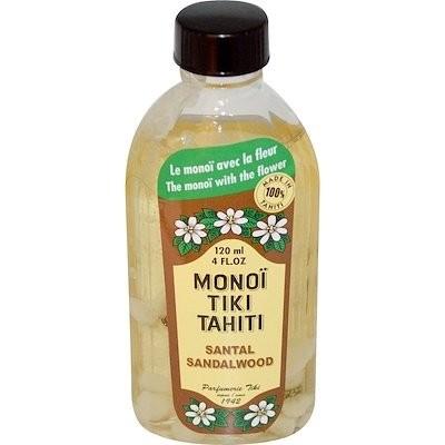タヒチ産モノイティキ、サンダルウッド、4 fl oz (120 ml)