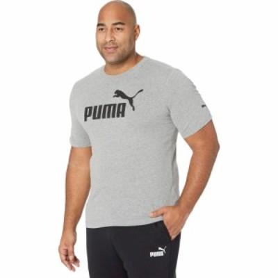 プーマ PUMA メンズ Tシャツ 大きいサイズ ロゴTシャツ トップス Big and Tall Essential Logo Tee Medium Gray Heather