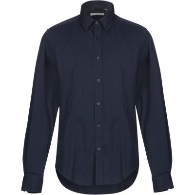 ORIGINAL WEARING シャツ ダークブルー L コットン 65% / ポリエステル 32% / ポリウレタン 3% シャツ