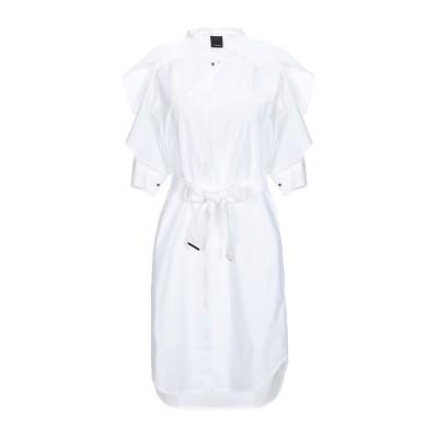 ピンコ PINKO ミニワンピース&ドレス ホワイト 44 コットン 100% / ポリエステル ミニワンピース&ドレス