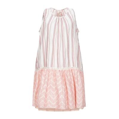 レムレム LEMLEM ミニワンピース&ドレス アイボリー L コットン 100% ミニワンピース&ドレス