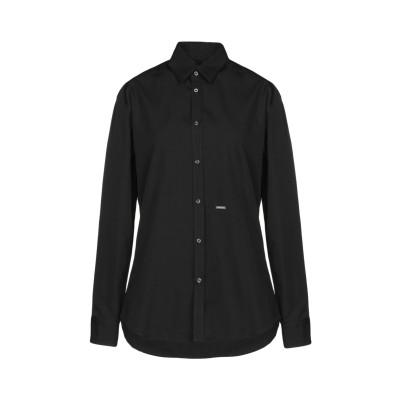 ディースクエアード DSQUARED2 シャツ ブラック 38 コットン 100% シャツ