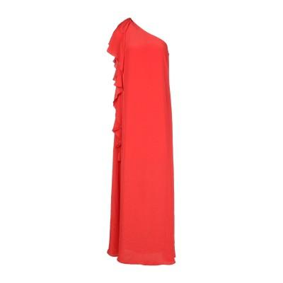 リュー ジョー LIU •JO ロングワンピース&ドレス コーラル 38 ポリエステル 100% ロングワンピース&ドレス