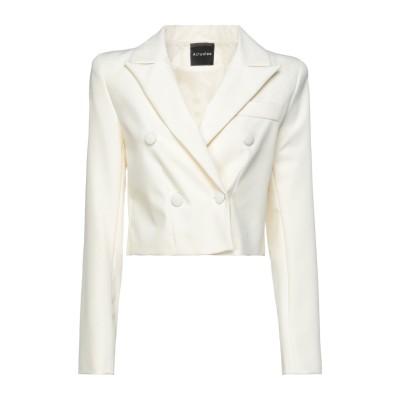 ACTUALEE テーラードジャケット アイボリー 40 ポリエステル 89% / ポリウレタン 11% テーラードジャケット
