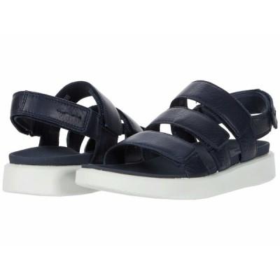 エコー サンダル シューズ レディース Flowt 3 Strap Sandal Marine Cow Leather