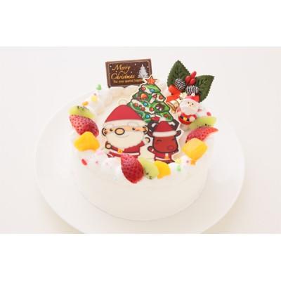 クリスマスケーキ2020 ポップアップフォトケーキ 5号 15cm