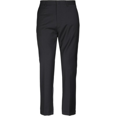 BE ABLE パンツ ブラック 36 バージンウール 99% / ポリウレタン 1% パンツ