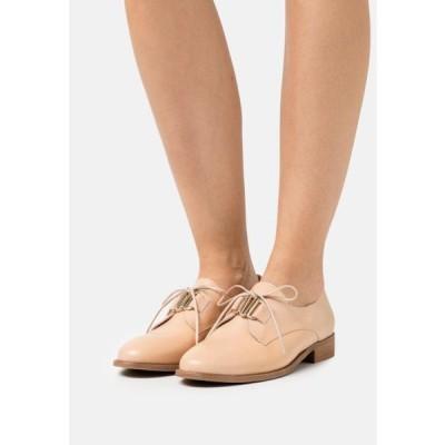 レディース 靴 シューズ MAELICE - Lace-ups - nude