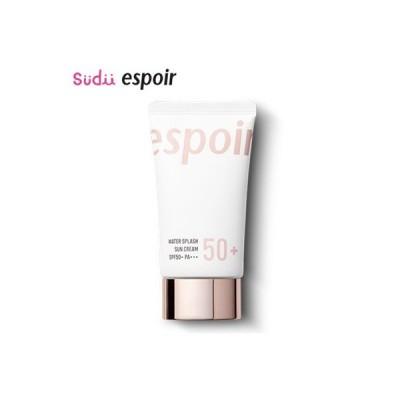 【espoir】 ウォーター スプラッシュ サンクリーム Water Splash Sun Cream 60ml SPF50+ PA+++ エスポア 韓国コスメ 日焼け止め