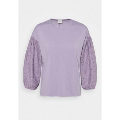 ジェイディーワイ カットソー レディース トップス JDYSACRAMENTO  - Long sleeved top - lavender gray