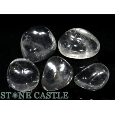☆置石一点物☆【天然石 置き石】水晶 (EX) 握り石 (5個セット) No.18