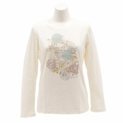 ウィッテム(HUITIEME)Tシャツ レディース 長袖 クルーネック HU18FCD864513WHT(Lady's)
