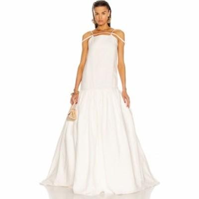 ジャックムス JACQUEMUS レディース ワンピース ワンピース・ドレス La Robe Amour Off White