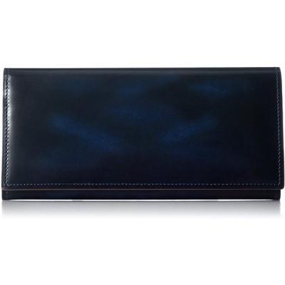 [エバウィン] 【日本製】財布 長財布 本革 EW21563 ブルー