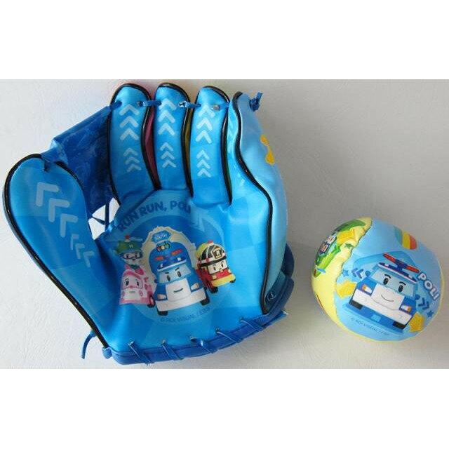 【京甫】 波力 神投手手套組 兒童 棒球 棒球手套
