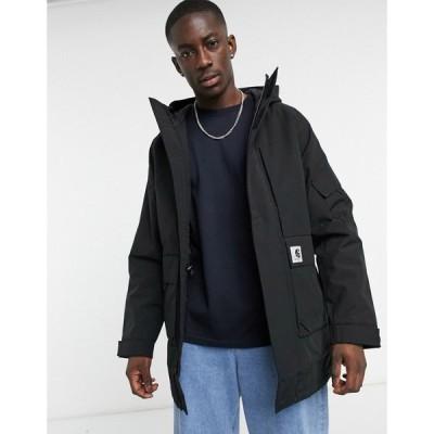 カーハート Carhartt WIP メンズ コート アウター Bode Parka In Black ブラック