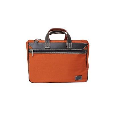 PHILIPE LANGLET ビジネスバッグ B4対応 NYビジネスシリーズ 26595 (オレンジ(17)) ブリーフケース ビジネスバッグ メンズ プレゼント ギフト