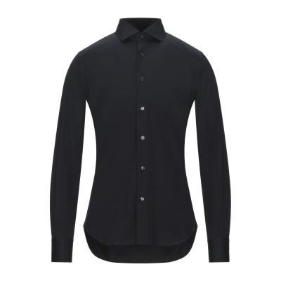 XACUS シャツ ブラック 37 コットン 96% / ポリウレタン 4% シャツ