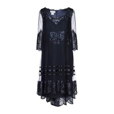 CAILAN'D ミニワンピース&ドレス ダークブルー 42 ポリエステル 92% / ポリウレタン 8% ミニワンピース&ドレス