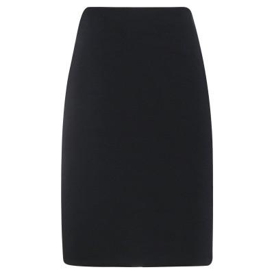ÉCLÀ ひざ丈スカート ブラック 46 ポリエステル 96% / ポリウレタン 4% ひざ丈スカート