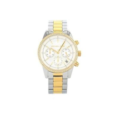マイケル コース MK6474 - Ritz レディース 腕時計 時計 ファッションウォッチ White