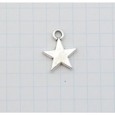 メタルパーツ 星 ホシ 銀色 シルバー 229 レジン チャーム