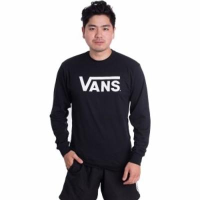 ヴァンズ Vans メンズ 長袖Tシャツ トップス - Classic Black/White - Longsleeve black