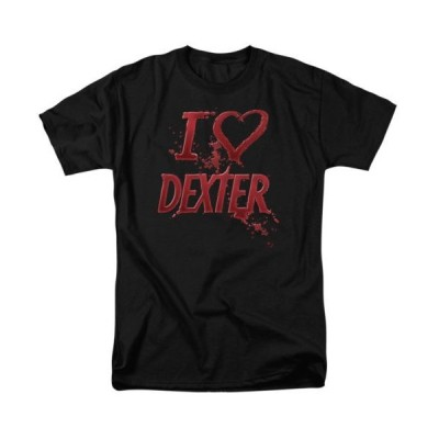 Tシャツ デクスター Showtime Dexter I Heart Dexter Licensed Adult T Shirt