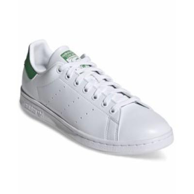 アディダス メンズ スニーカー シューズ Men's Originals Stan Smith Primegreen Casual Sneakers from Finish Line Footwear White Gree