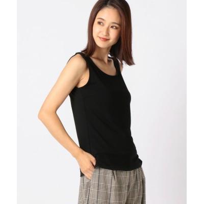 【ミューズ リファインド クローズ】 ヒートウォームタンクトップ レディース クロ L MEW'S REFINED CLOTHES
