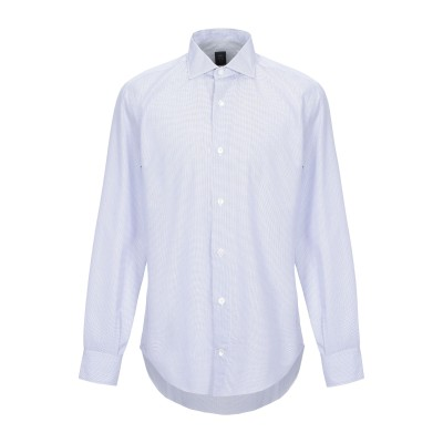 イレブンティ ELEVENTY シャツ ブルー 44 コットン 100% シャツ
