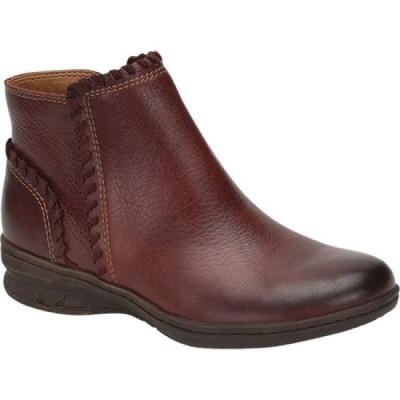 コンフォーティヴァ Comfortiva レディース ブーツ ショートブーツ シューズ・靴 Fallston Ankle Bootie Red Waterproof Leather