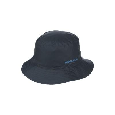 ウールリッチ WOOLRICH 帽子 ダークブルー L ポリエステル 100% 帽子