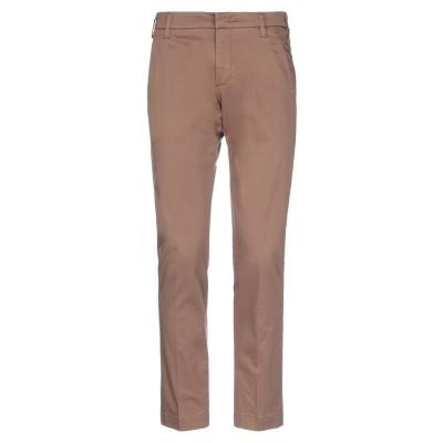 アントレ アミ ENTRE AMIS パンツ キャメル 31 コットン 98% / ポリウレタン 2% パンツ