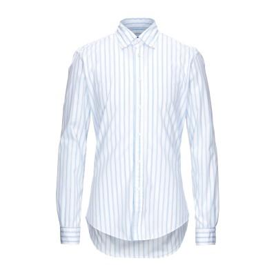 ブライアン デールズ BRIAN DALES シャツ スカイブルー 40 コットン 100% シャツ