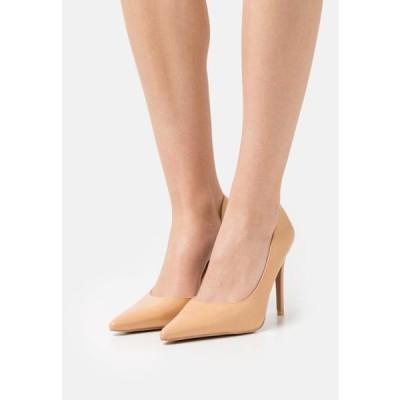 エヌエーケイディー レディース 靴 シューズ SIDE CUT - Classic heels - beige