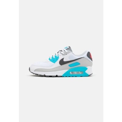 ナイキ メンズ 靴 シューズ AIR MAX 90 - Trainers - white/iron grey/chlorine blue