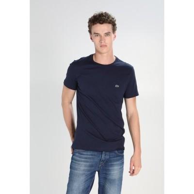 ラコステ Tシャツ メンズ トップス Basic T-shirt - navy blue