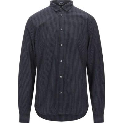 ペトロール インダストリーズ PETROL INDUSTRIES Co. メンズ シャツ トップス checked shirt Dark blue