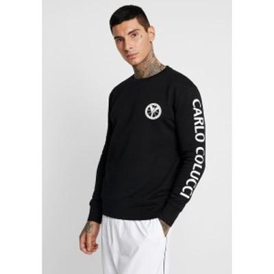 カルロ コルッチ メンズ パーカー・スウェットシャツ アウター Sweatshirt - schwarz schwarz