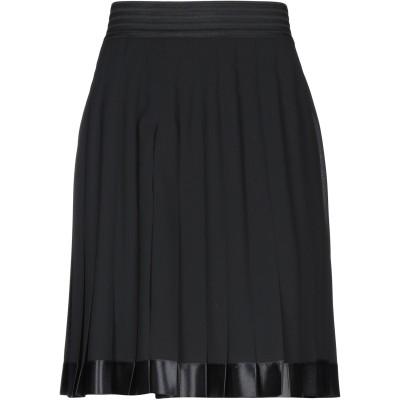CLIPS ひざ丈スカート ブラック 46 ポリエステル 100% ひざ丈スカート
